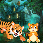 G4K Tiger And Cub Rescue Game