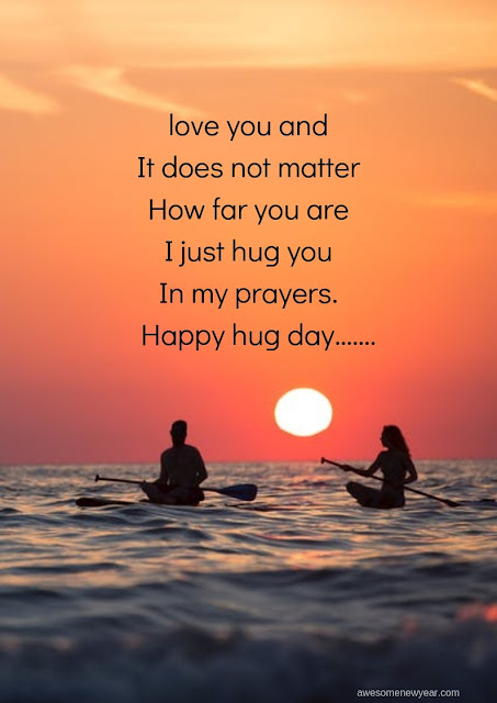 Happy Hug Day 2019 Messages