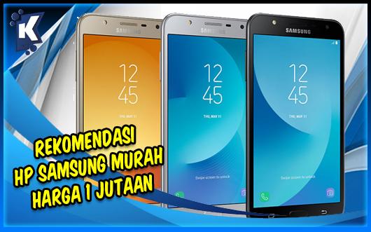 Rekomendasi HP Samsung Murah Harga 1 Jutaan