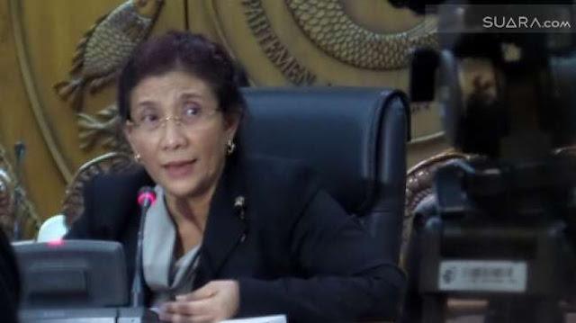 Sindir Ahok Soal Reklamasi, Menteri Susi : Harusnya Pikirkan Dulu Dampak Lingkungan.