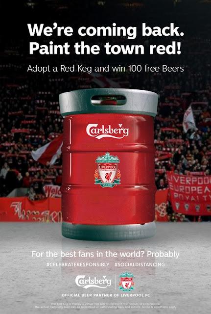 Carlsberg Red Keg