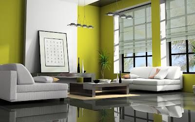 Green Themed Living Room Design Ideas For Fresh Look - Start ...