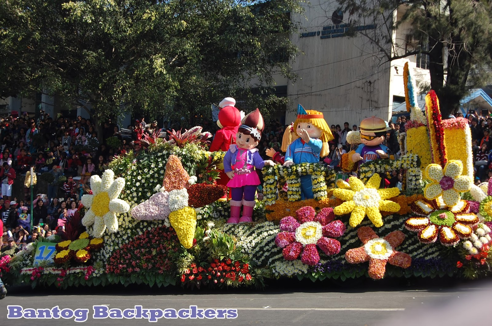 Panagbenga Festival Baguio City Bantog Backpackers