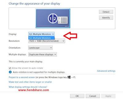 #2 Cara Menampilkan Layar Laptop Ke TV LED