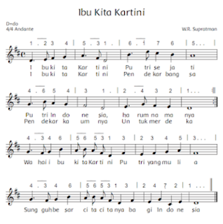 "Lagu ""Ibu Kita Kartini"" www.simplenews.me"