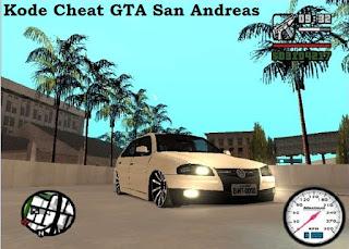 Kode Cheat GTA San Andreas