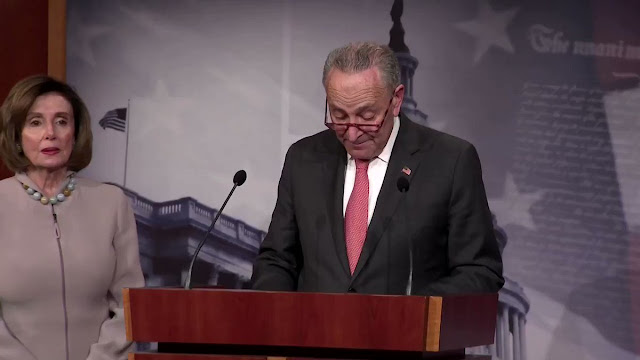 "VIDEO Chuck Schumer SLAMS President Trump : ""It's Racist To Only Allow Citizens To Vote"""