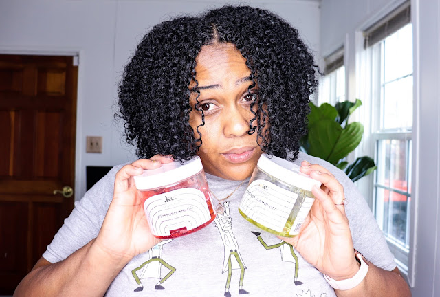 Review: Wash and Go with KeraCare GelEssence on Natural Hair