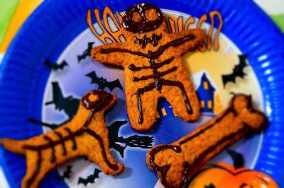 ricetta halloween gingerbread vegani