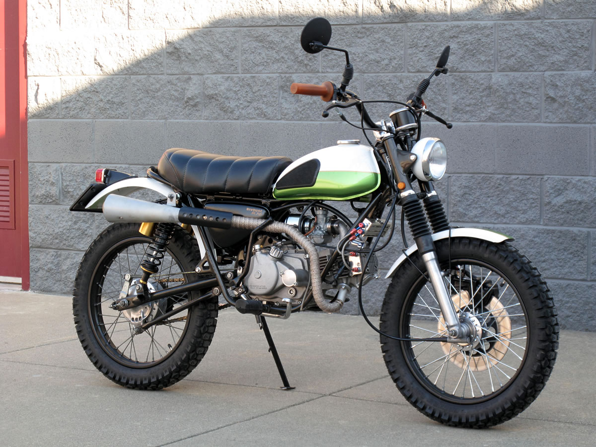 racing caf honda sl70 scrambler by todd hunter. Black Bedroom Furniture Sets. Home Design Ideas
