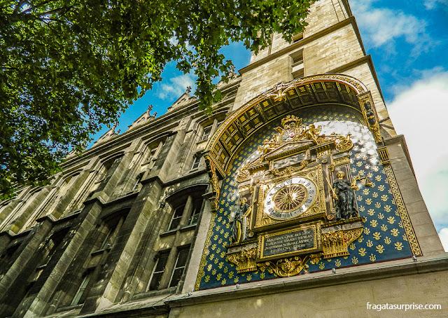 Torre do Relógio da Conciergerie, Paris
