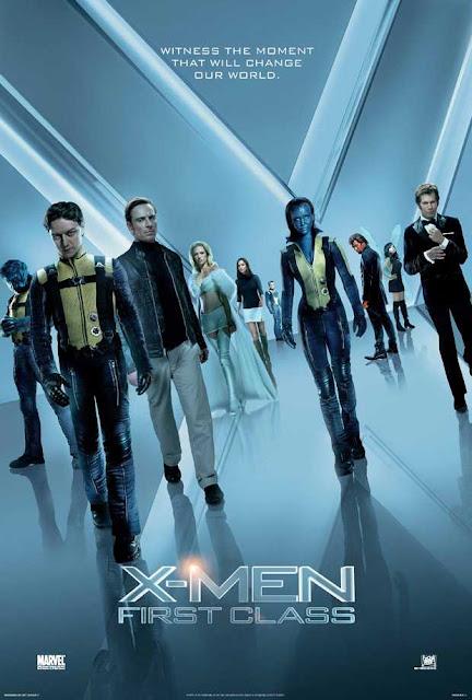 X Men First Class 2011 Hindi Dual Audio Bluray 720p