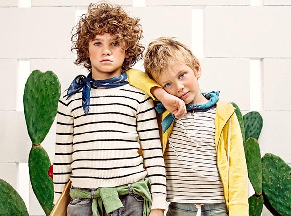 Moda ropa para chicos primavera verano 2018 Paula Cahen D'Anvers Niños.