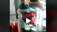 Viral Video Wanita Cantik Penjual Sempol Ayam bikin Gagal Fokus