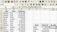 Formule Excel per contare numeri e celle (CONTA e SOMMA)