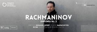 RACHMANINOV No. 2 por la Sinfonica Nacional