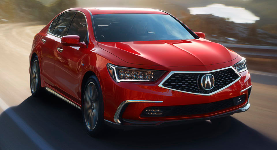 The 2018 Acura RLX Will Combine A V6 With Three Electric Motors