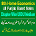 8th Home Economics PDF Notes Download Punjab Boards
