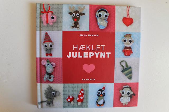 9d96b45531b Jeg har modtaget denne søde hækle bog fra Klematis, forfattet af Maja  Hansen.