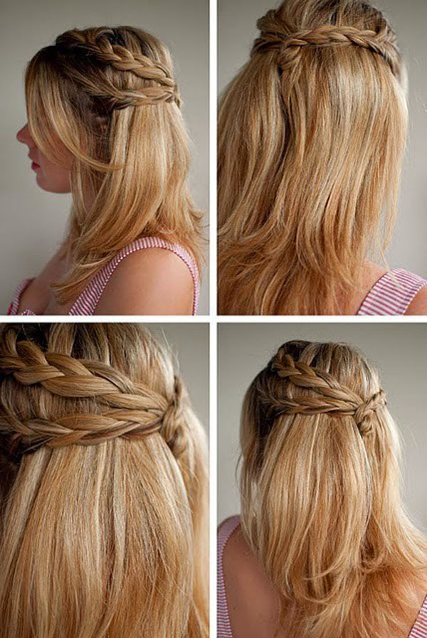 Superb Pretty Braided Hairstyles For Girls Hairstyle Inspiration Daily Dogsangcom