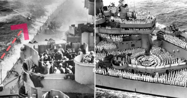 Pass This Story on To Future Generations: Kamikaze Crash into Navy USS Missouri Battle During WW2
