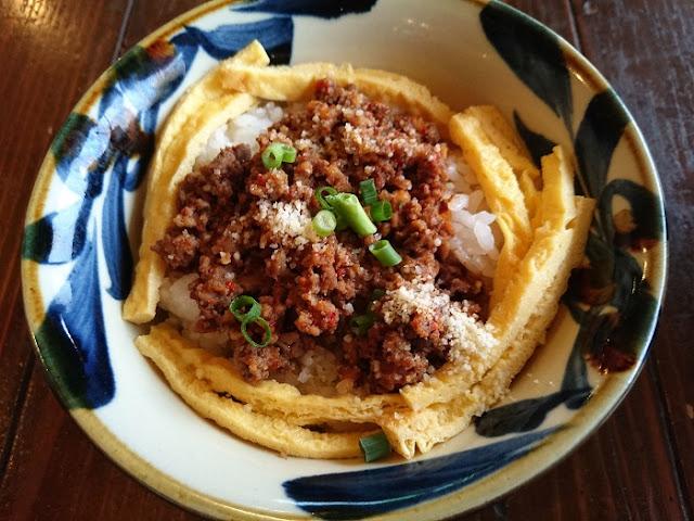 タコライス風御飯の写真