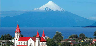 Llanquihue Lake, Chile.