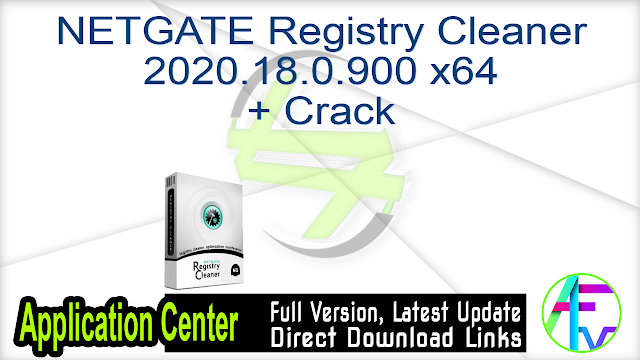 NETGATE Registry Cleaner 2020.18.0.900 x64 + Crack