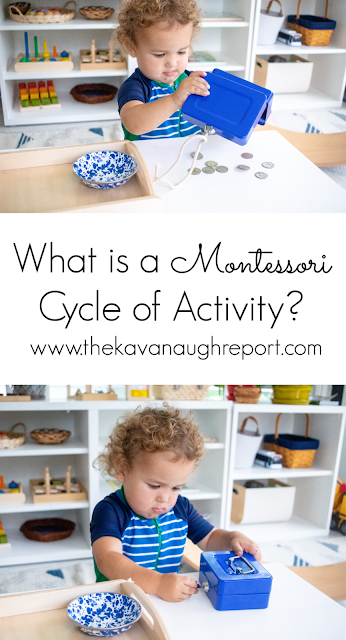 A look at a Montessori cycle of activity - what it looks like and what it means