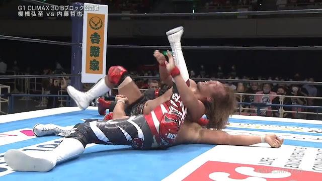 Hiroshi Tanahashi vs. Tetsuya Naito at G1 Climax 30