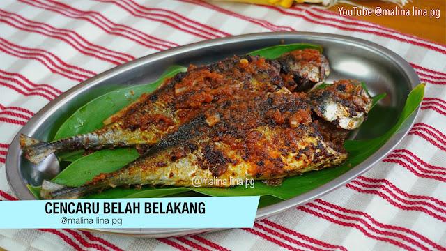 resepi ikan cencaru sumbat sambal, cara buat cencaru belah belakang, resepi lauk mudah dan sedap,resepi ikan cencaru,cencaru sumbat kelapa,