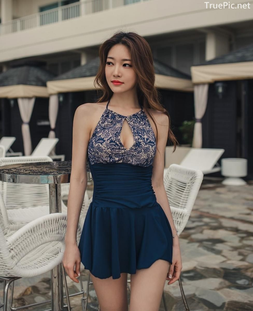Korean model and fashion - Park Jeong Yoon - Lemare 2P Swimsuit Set - Picture 7