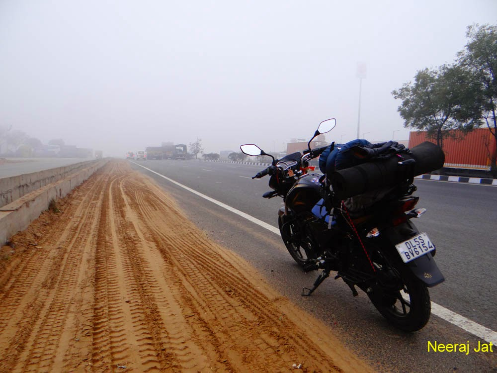 Delhi to Kutch bike trip