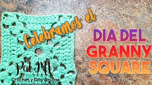 Día del Granny Square | Cuadro de abuelita