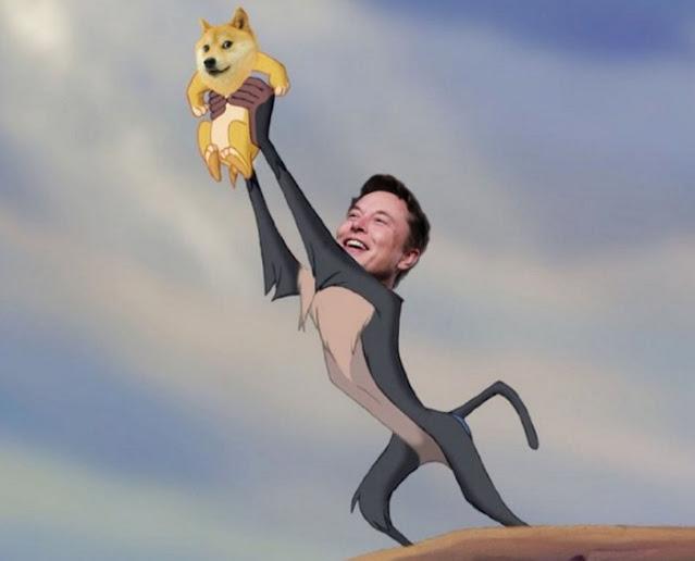 """Harga Dogecoin naik 50% pada 4 Februari tak lama setelah Musk, kepala eksekutif Tesla dan orang terkaya di dunia, men-tweet bahwa """"Dogecoin adalah crypto rakyat""""."""