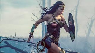 Mulher-Maravilha, filme, cena, trincheira, melhor de, oldie nerd, video