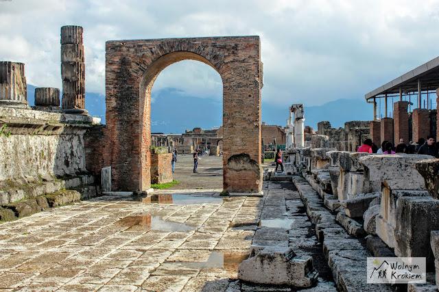 Pompeje Włochy