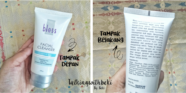 Review Bless  Facial Cleanser for Sensitive Skin