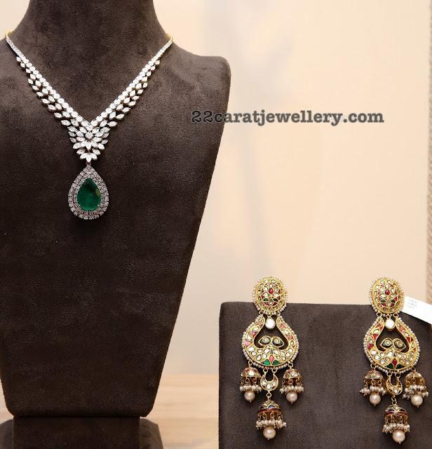 Deepthi Ganesh Diamond Set