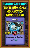 Freddo - Wizard101 Card-Giving Jewel Guide