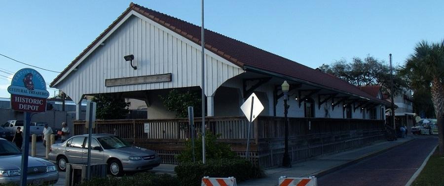 Depot o estación en Tarpon Springs