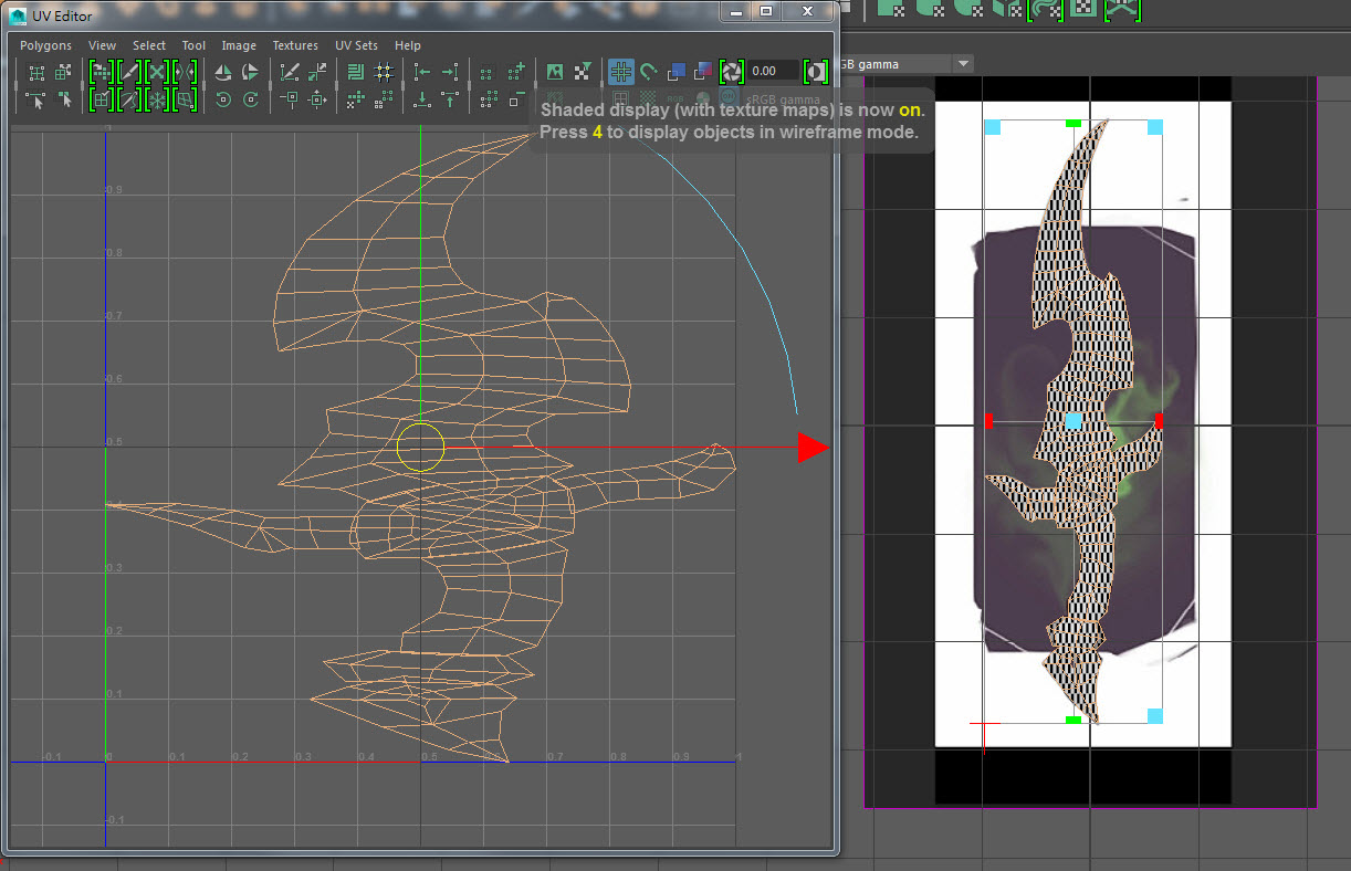 Blade UV Mapping 05