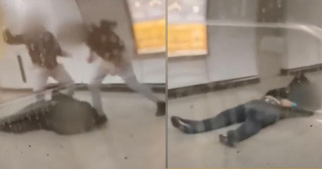 Συνελήφθησαν οι δύο δράστες του βίαιου ξυλοδαρμού του σταθμάρχη του μετρό στην Ομονοία