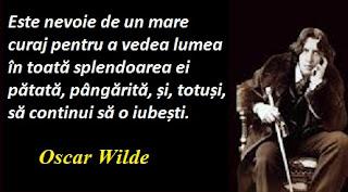 Maxima zilei: 16 octombrie - Oscar Wilde