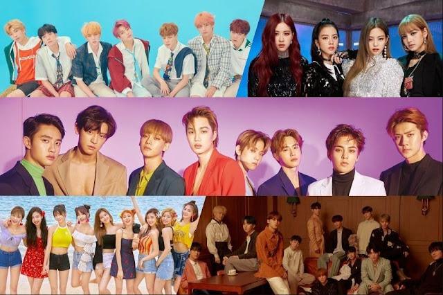 Gaon Chart Berikan Penghargaan Platinum Untuk BTS, BLACKPINK, EXO, TWICE, dan SEVENTEEN