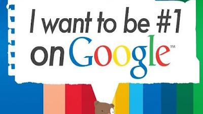 page one di mesin pencari google