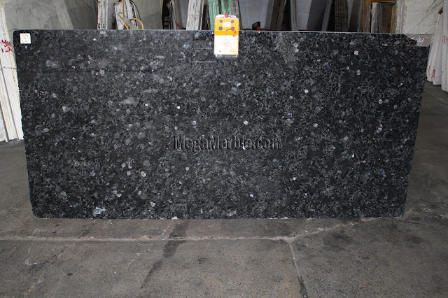 Volga Blue Granite slabs for countertop