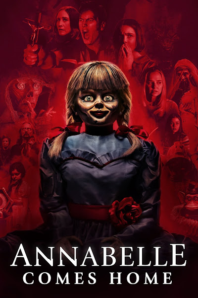 Poster of Annabelle Comes Home (2019) Dual Audio [Hindi-DD5.1] 720p BluRay ESubs Download