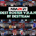 [LATEST UPDATE] NBA 2K21 DEST ROSTER V21.08.19 (August 19, 2021)  + 99  Teams WITH ALL NEW 2022 ROOKIES + FIBA + LATEST TRANSACTIONS AIO by destteam