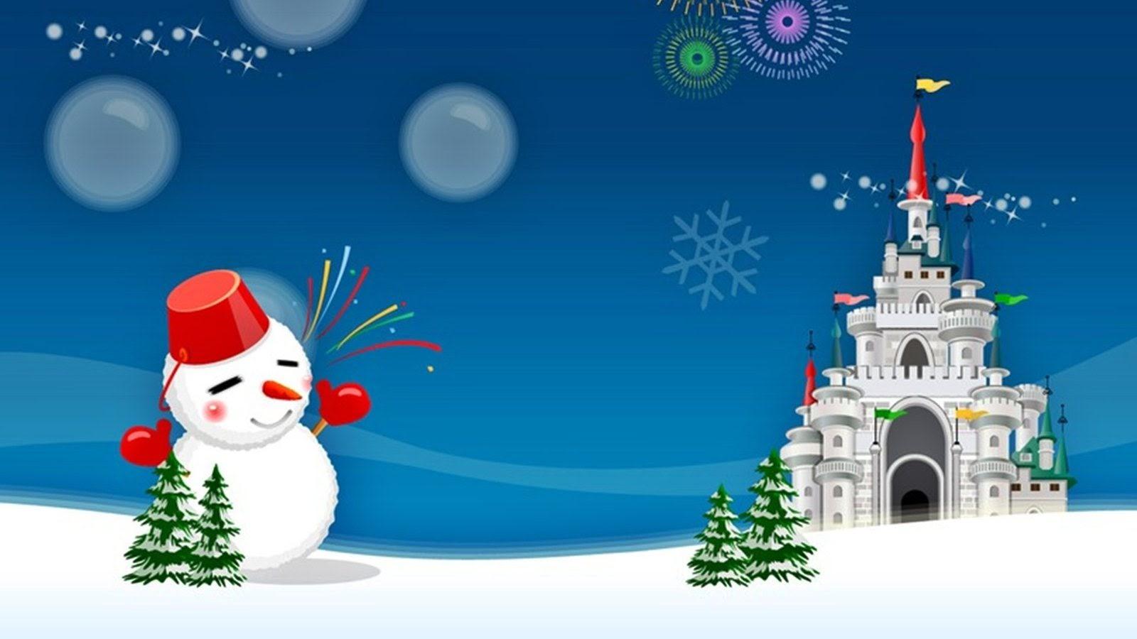 Kumpulan Gambar Wallpaper HD Natal Tahun Baru 2019 Untuk Desktop